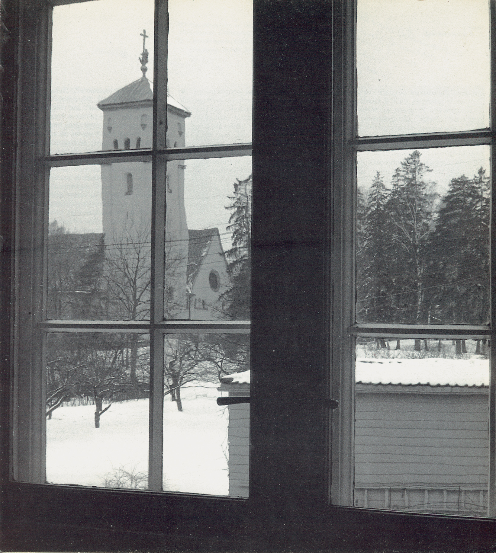 Norberg-Schulz's picture of his second home in Slemdalsvingen 55, as published in _Genius Loci_.