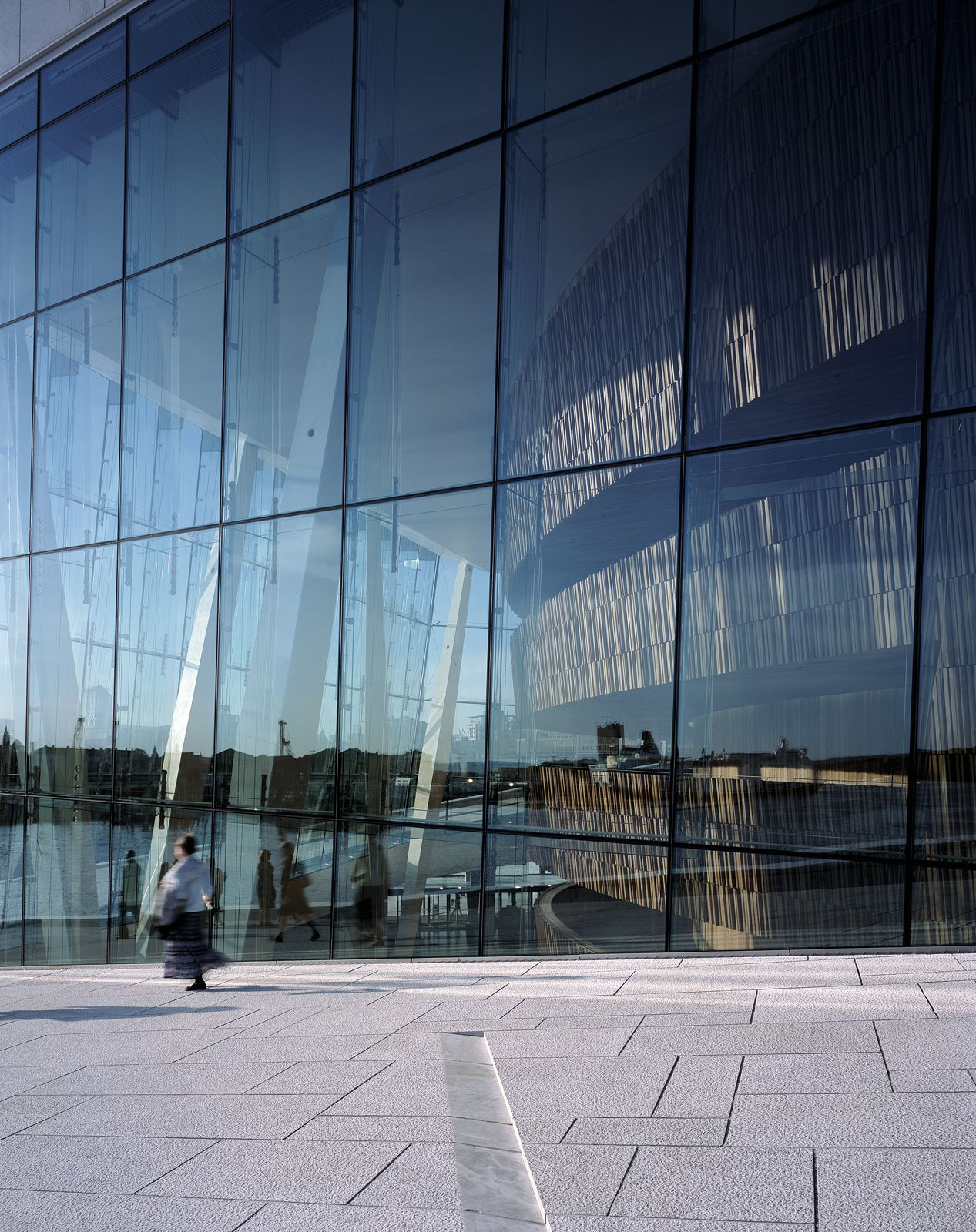 The Oslo Opera. Architect: Snøhetta AS. Photo: Helene Binet.