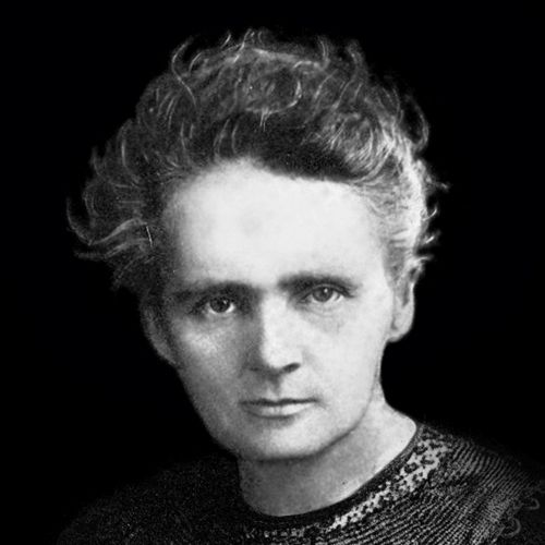Scientist Marie Curie.