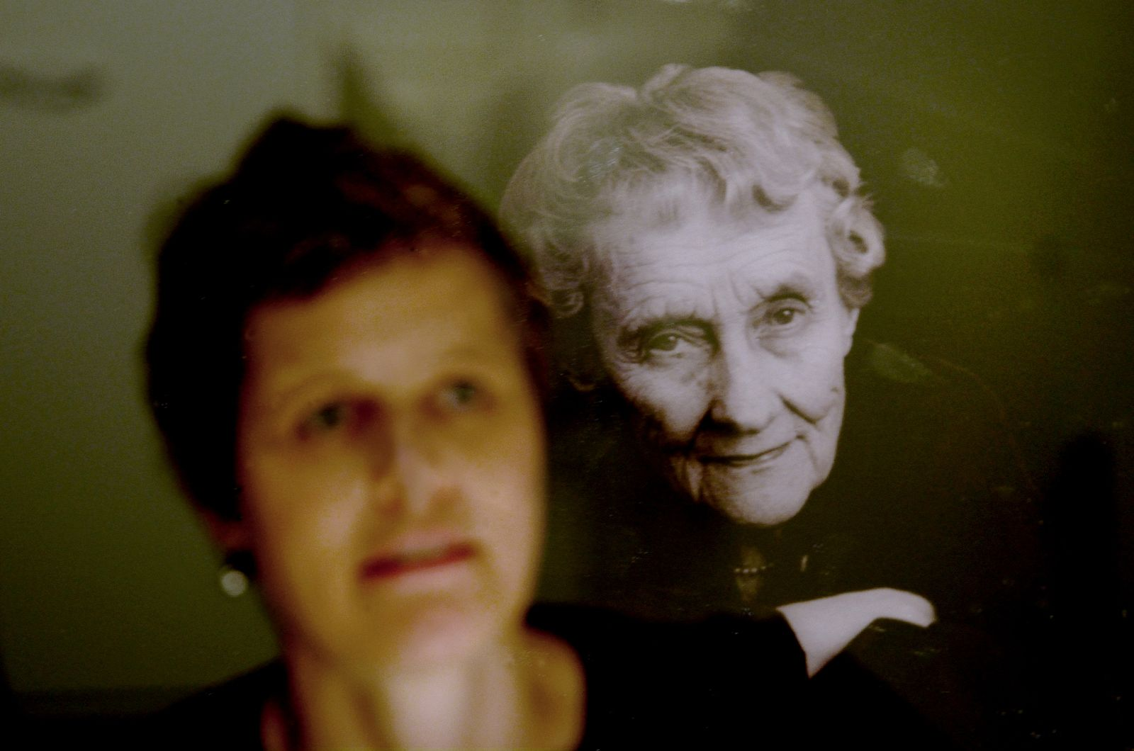 Eye to eye with author Astrid Lindgren.