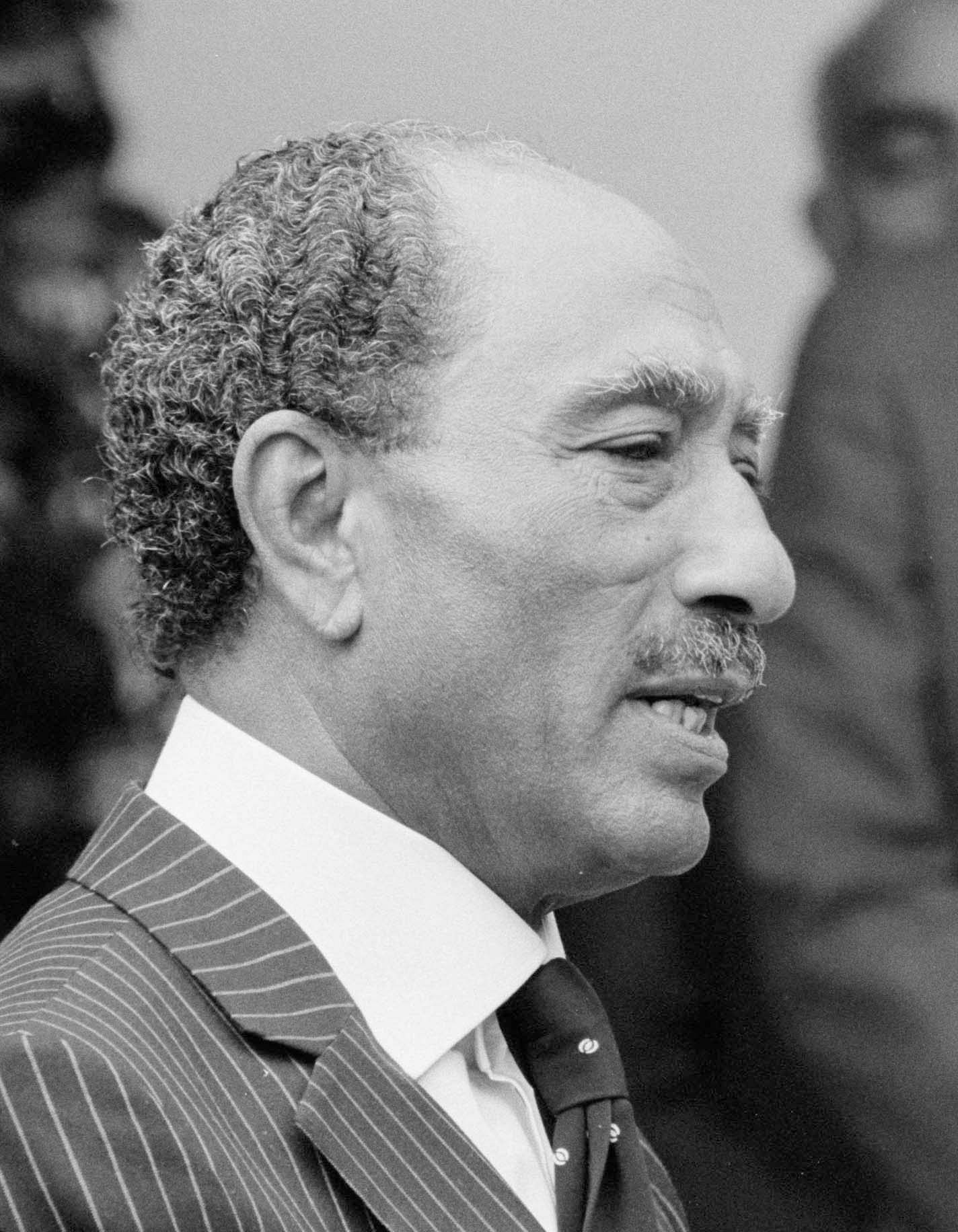 Egyptian President Anwar Sadat, 1980. Photo: US Library of Congress/Wikimedia commons