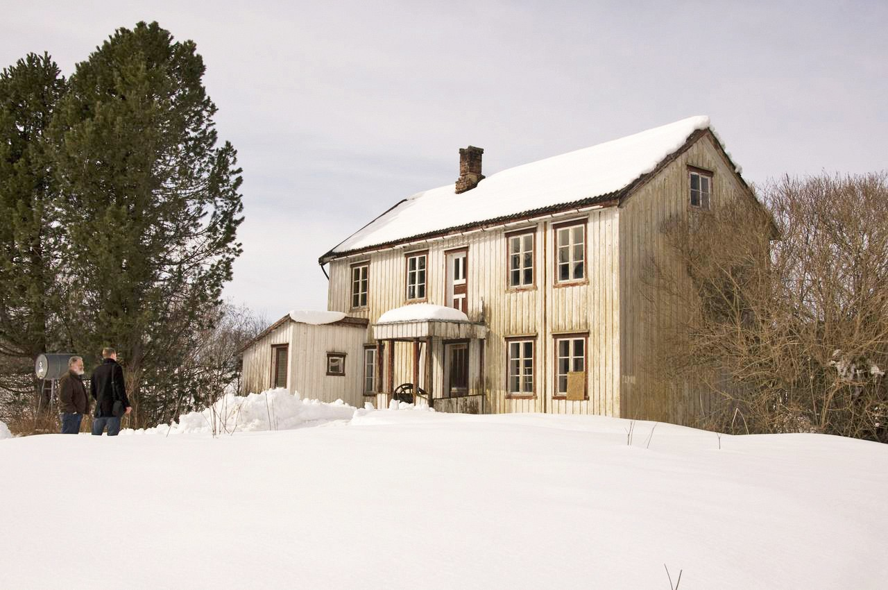 One of the houses bye and sendstad were offered for their project steinkjer
